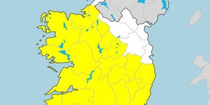 Żółty alert meteorologiczny - obfite opady