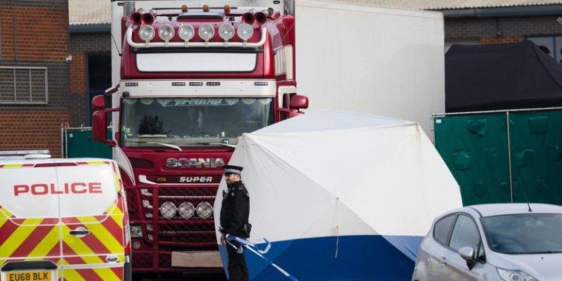 Aresztowano Irlandczyka w sprawie 39 ciał znalezionych w ciężarówce
