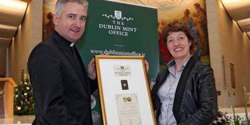 Irlandzkie medale z Janem Pawłem II