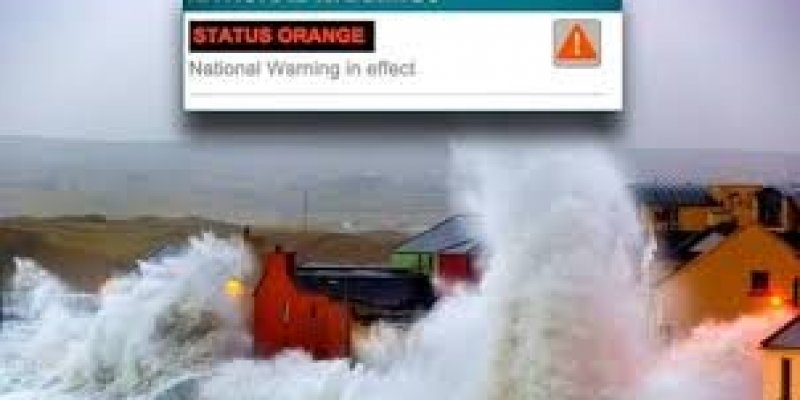 Zbliża się huragan Ciara