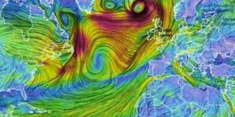 Do Irlandii idzie kolejny huragan