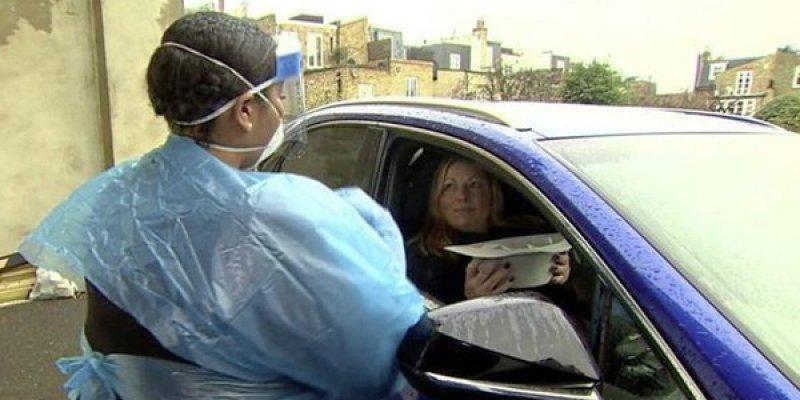 Koronawirus badany wprost z samochodu