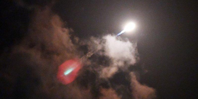 Rakieta Falcon 9 przeleciała nad Europą - widoczna z Irlandii i Polski