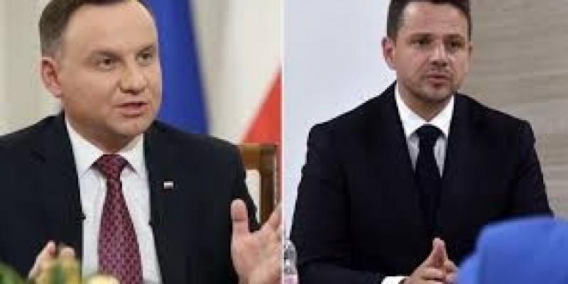 Duda z Trzaskowskim powalczą w II turze o urząd prezydenta RP