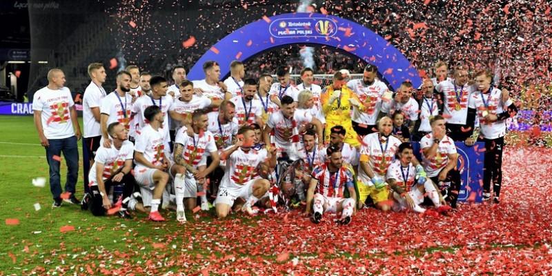 Cracovia po raz pierwszy z Pucharem Polski