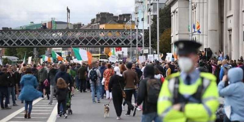 Protest przeciwko restrykcjom, zatrzymano cztery osoby