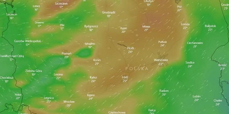 Nad Polskę nadciąga Otylia