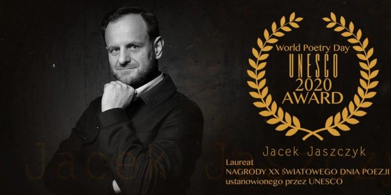 Jacek Jaszczyk laureatem World Day Poetry UNESCO 2020 Award