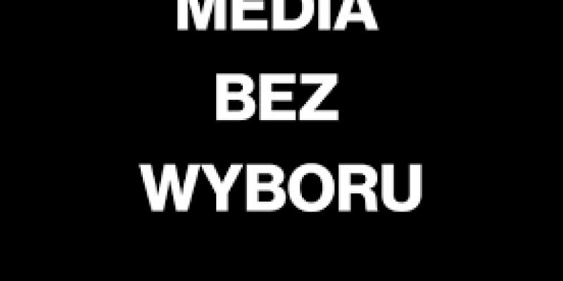 Polska bez Polsatu i TVN - protest polskich mediów