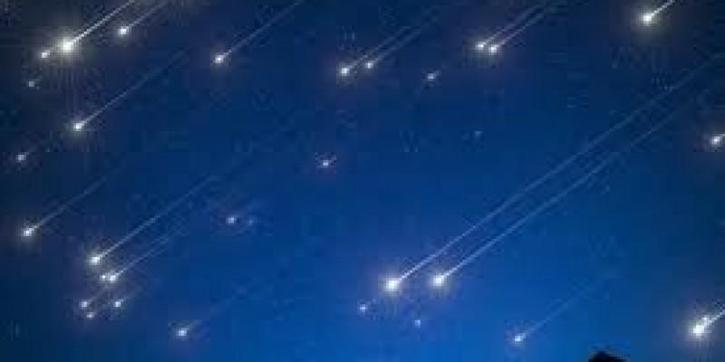 Deszcz meteorów nad Irlandią