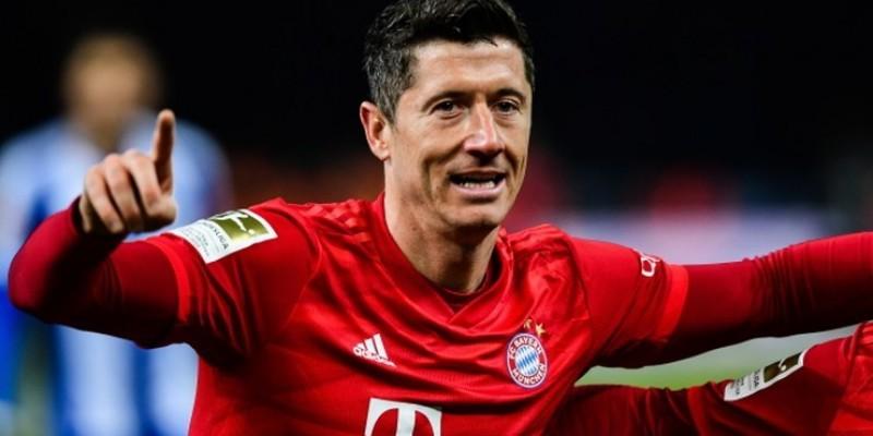 Lewandowski pobił rekord Bundesligi - 41 goli