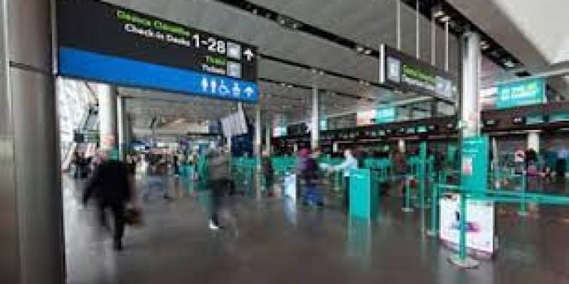 Portugalczyk awanturował się na lotnisku w Dublinie