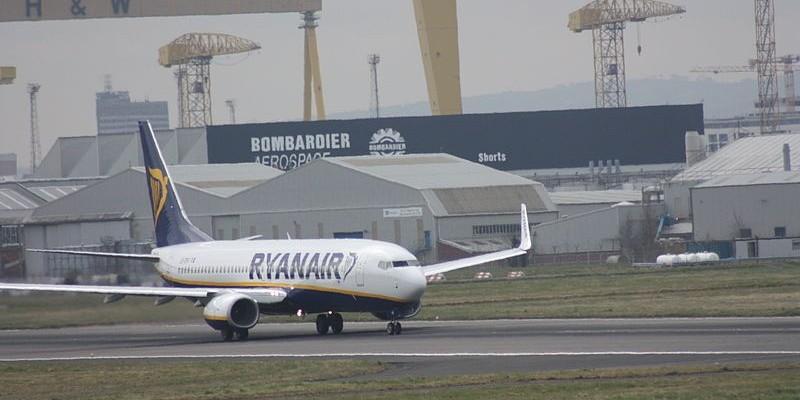 Ryanair zawiesza wszystkie loty z Irlandii Północnej