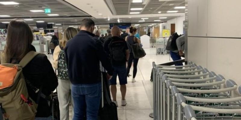 Opóźnienia na lotnisku w Dublinie, pasażerowie potracili pieniądze