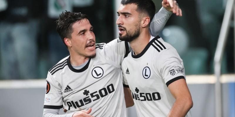 Legia ograła Leicester w Lidze Europy