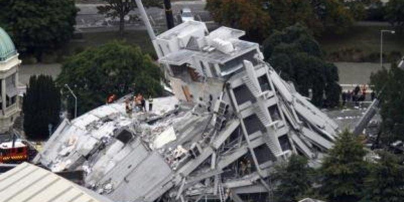 Trzęsienei ziemi w Nowej Zelandii.