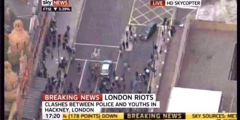 Dalsze zamieszki w Londynie.