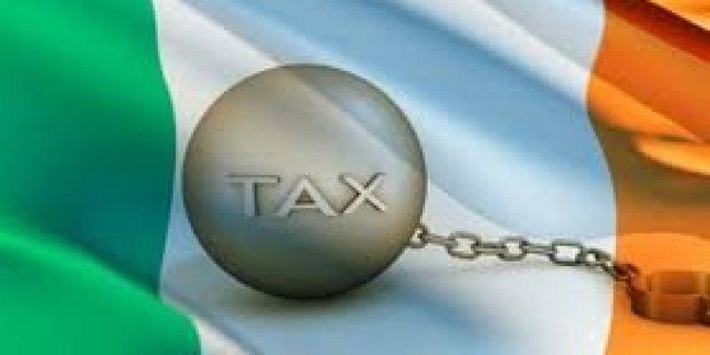 100 euro rocznie nowego podatku w Irlandii.