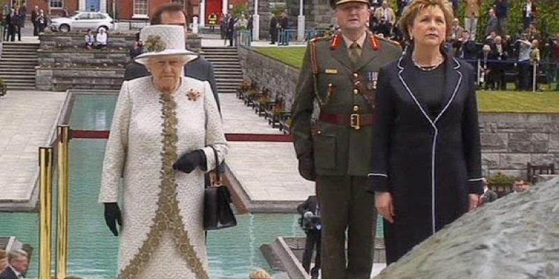 Wizyta królowej Elżbiety II w Irlandii