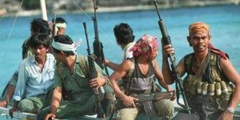 Somalijscy piraci porwali statek.