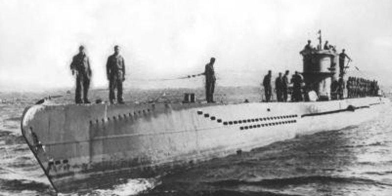 W wodach zatoki Cork odnaleziono U- Boota.