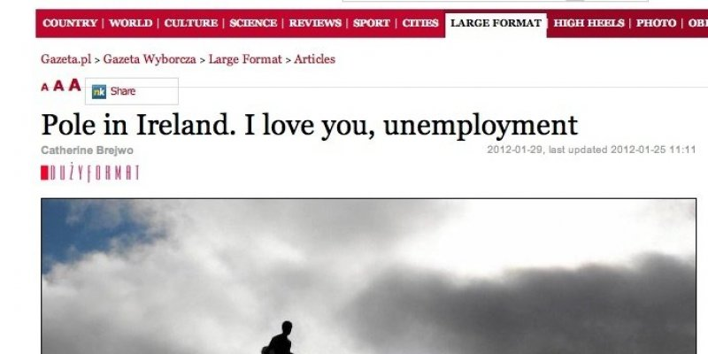 ''Irish Independent'' VS ''Gazeta Wyborcza''