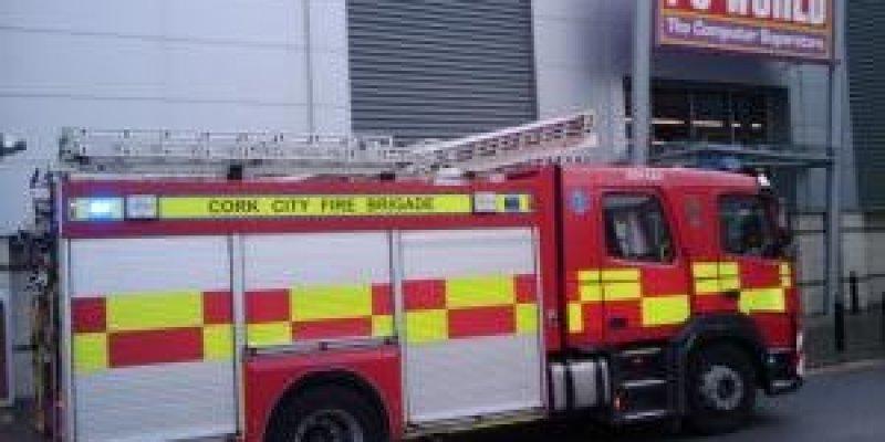 Alarm Pożarowy w PC World - Cork