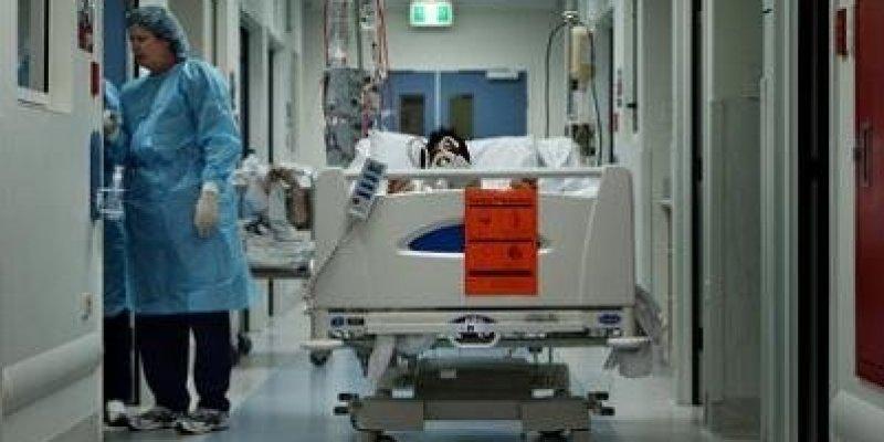 Szok! 75 tysięcy pacjentów na korytarzach Irlandzkich szpitali.