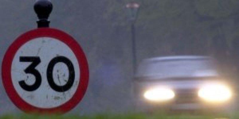 Zwolnij. Ograniczenie prędkości w Cork