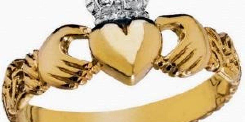 pierścień na Walentynki